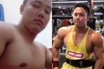 Chàng trai 'lột xác' từ 135kg xuống 80 kg