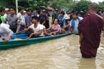 Video, Anh: Vo dap o Myanmar, hon 100 ngoi lang chim trong bien nuoc hinh anh 8