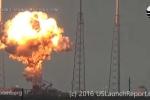 Video: Tên lửa Falcon 9 nổ tung khi rời bệ phóng