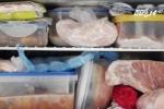 Dùng túi nilon bọc thực phẩm để trong tủ lạnh, coi chừng nhiễm độc