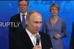 Video: Tổng thống Putin nói gì sau chiến thắng áp đảo?