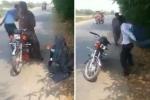 Video: Nhóm cướp tinh vi dàn cảnh cướp xe, ví, điện thoại trong 30 giây