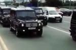 Dàn xế hộp siêu sang của các học viên cảnh sát mật Nga gây 'bão'