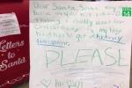 Cô bé viết thư xin ông già Noel món quà đặc biệt khiến ai cũng rơi nước mắt