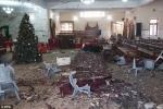 Đánh bom tự sát ở nhà thờ trước lễ Giáng sinh, hàng chục người thương vong