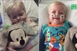Rút ống thở, bé 2 tuổi chết lâm sàng bất ngờ sống lại, khỏi ung thư