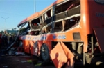 Xe tải tông xe khách ở Gia Lai, 34 người thương vong