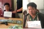 Bị công an truy bắt, 2 kẻ buôn ma túy cầm súng bắn trả