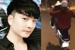 Diễn viên phim 'Người phán xử' tung clip bốc đầu xe máy, chửi bậy giữa phố