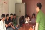 Video: Bắt quả tang 10 thanh niên sử dụng ma tuý tại quán internet
