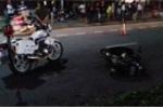 CSGT tông chết người trên đường truy đuổi xe vi phạm