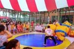 Video: Xem các em nhỏ Hà Nội hóa thân thành võ sĩ Sumo, đấu vật ở công viên