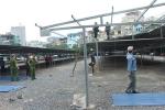 Video: Phá dỡ bãi xe không phép rộng hàng ngàn mét vuông tại Hà Nội