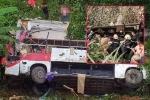 Xe khách giường nằm lao xuống vực: Ban An toàn giao thông tỉnh Cao Bằng thông tin chính thức