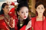 Trần Kiều Ân, Địch Lệ Nhiệt Ba và dàn mỹ nhân Hoa ngữ đọ sắc khi diện áo đỏ trong phim cổ trang