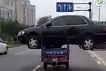 Sự thật đằng sau bức ảnh 'siêu thực' trên đường phố Trung Quốc