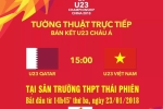 Trường THPT Thái Phiên chiếu bóng đá cổ vũ U23 Việt Nam ngay tại trường