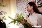 Nữ DJ Hà thành dịu dàng trong áo dài trắng