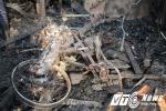 Cháy lớn thiêu rụi toàn bộ cơ sở kinh doanh gỗ ở Hải Phòng