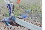 Bốn người bị giật chết trong lúc dựng cột điện ở Hà Tĩnh