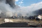 Hai nhà xưởng chứa phế liệu ở TP.HCM cháy rụi trong ngày vía Thần tài