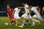Đạp cầu thủ đối phương, phản ứng trọng tài, SHB Đà Nẵng nhận mưa án phạt