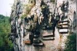 Tục treo quan tài trên vách đá - huyền táng thời cổ xưa