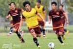 Công Phượng chưa tập luyện cùng tuyển Việt Nam