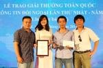 Báo điện tử VTC News giành giải Báo chí Quốc gia 2015