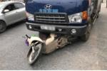 Người phụ nữ đi xe SH chết thảm dưới gầm xe tải