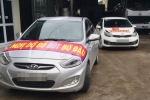 Hơn 40 ô tô diễu hành phản đối trạm BOT ở Thái Nguyên