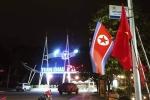 Ảnh: Quảng Ninh treo cờ trong đêm đón phái đoàn Triều Tiên thăm vịnh Hạ Long