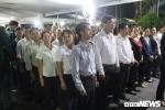 Ảnh: Dân xếp hàng dài trong đêm viếng cố Thủ tướng Phan Văn Khải