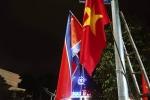Anh: Quang Ninh treo co trong dem don phai doan Trieu Tien tham vinh Ha Long hinh anh 2