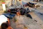 Cà Mau: Xe máy đâm nhau thảm khốc, 4 người thương vong