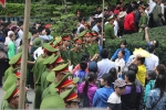 Video: Hàng nghìn cảnh sát, công an thiết lập 3 vòng bảo vệ ở lễ giỗ tổ Hùng Vương