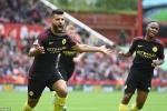 Aguero cùng Nolito tỏa sáng, Manchester City đè bẹp Stoke