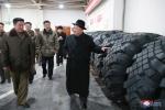 Ông Kim Jong-un thăm nhà máy sản xuất lốp đặc chủng cho bệ phóng tên lửa vươn đến Washington