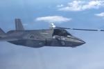 Video: Tiêm kích F-35 của Mỹ loay hoay tiếp cận vòi tiếp liệu trên không