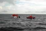 Tàu chở dầu bị đắm trên vùng biển Cô Tô