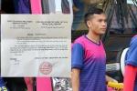 Sài Gòn FC chơi chữ vụ 'sa thải hụt' cựu tiền vệ HAGL?
