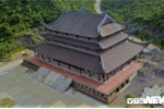 Ảnh: Ngắm chùa Tam Chúc sở hữu thiên thạch Mặt Trăng từ trên cao