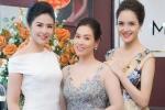 Nguyệt 'Phía trước là bầu trời' tự tin đọ sắc cùng Hoa hậu Ngọc Hân và Á hậu Hoàng Anh