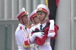 Video: Lễ thượng cờ rủ Quốc tang nguyên Tổng Bí thư Đỗ Mười