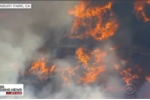 Video: Cháy rừng lan nhanh ở California, hàng nghìn người phải sơ tán