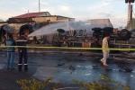 Xe bồn chở xăng va chạm xe ba gác bốc cháy khiến 6 người chết: Tạm giữ tài xế xe ba gác