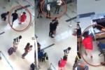 Nữ nhân viên hàng không bị tát, đạp ngã tại sân bay: Triệu tập 3 nam thanh niên