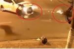 Clip: Exciter đấu đầu ô tô Mazda trong đêm và cái kết thảm khốc