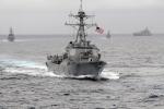 Lộ diện bằng chứng tàu chiến Trung Quốc hung hăng tiếp cận khu trục hạm Mỹ trên Biển Đông
