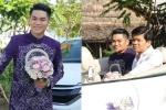 Trung Kiên đi xe mui trần sang trọng đến hỏi cưới Lê Phương